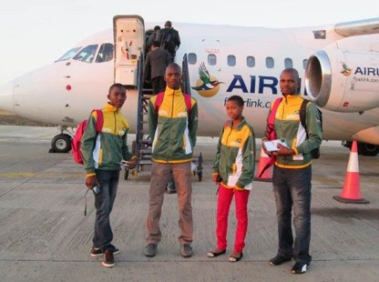 Vula Students boarding plan to Accra